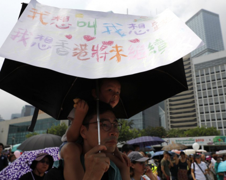 Hong Kong protests move forward despite police objections