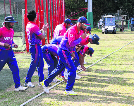 Nepal thrashes Netherlands by nine wickets in T-20 Series