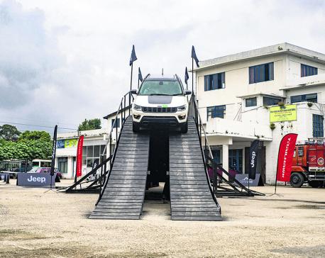 Jeep Camp underway in Kathmandu