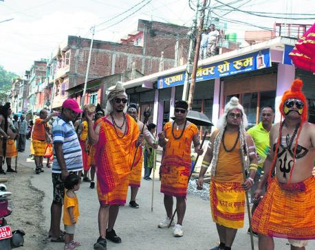 Locals of Baglung trying to preserve 'Jogi Naach'