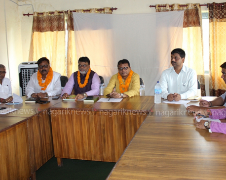 Province 2 cabinet meets in Sarlahi