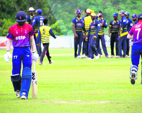 Nepal U-19 no match for Sri Lankan club Chilaw Marians