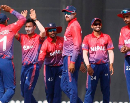 Nepal to play  T-20 series in Oman