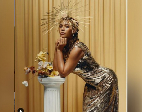Beyonce's portrait in shimmery gold going on display at Smithsonian Gallery