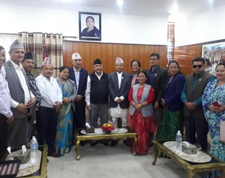PM Oli vows to address concerns of Suklaphanta National Park victims