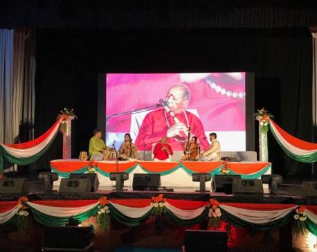 Pandit Hariprasad Chaurasia performs in capital