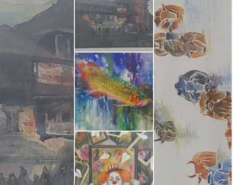 'Amity: A collective painting exhibition' showcasing diversity
