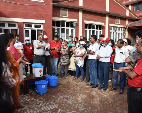 Nepal Red Cross Society celebrated its 57th anniversary