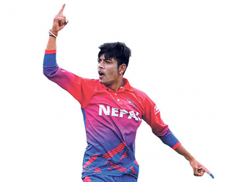 US Embassy grants visa to  Sandeep Lamichhane