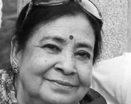 Veteran actress Subhadra Adhikari passed away