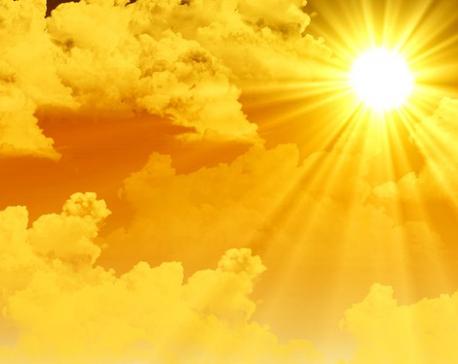 Sun will shine bright