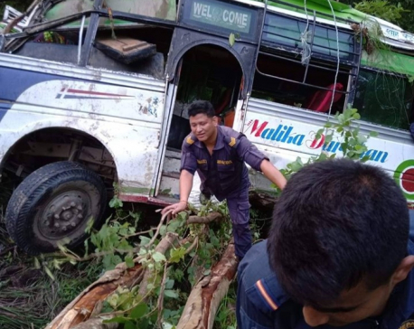 Three killed in Surkhet road mishap