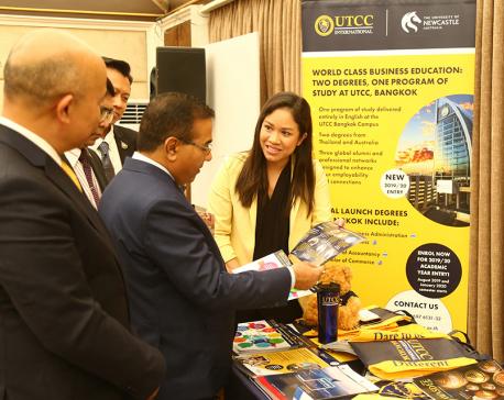 Thai educational fair-2019 kicks off