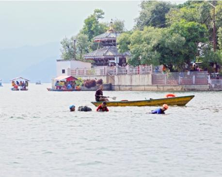 Pokhara aspiring as a water sports destination
