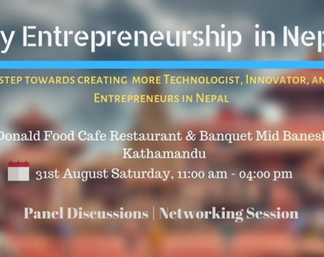 'Why Entrepreneurship in Nepal?' empowering youths