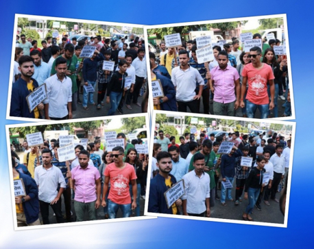 Independent Youth Group demands justice for journo Pudasaini