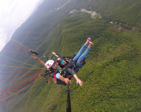 Kathmandu Paragliding in Godawari reopens