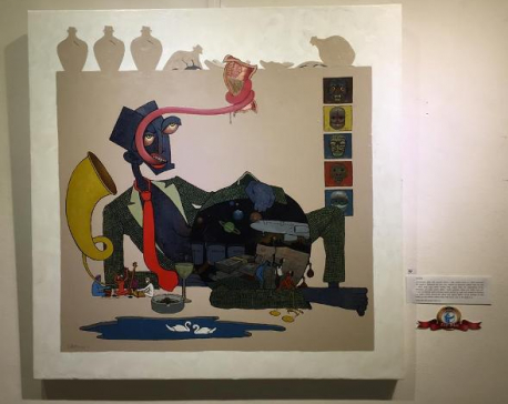 Showcasing anti-corruption through painting