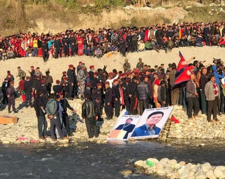 Minister Adhikari's post-death rituals on Tuesday