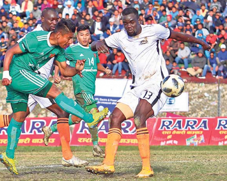 Army enters final ending Dauphins' hope of winning fourth title in Nepal