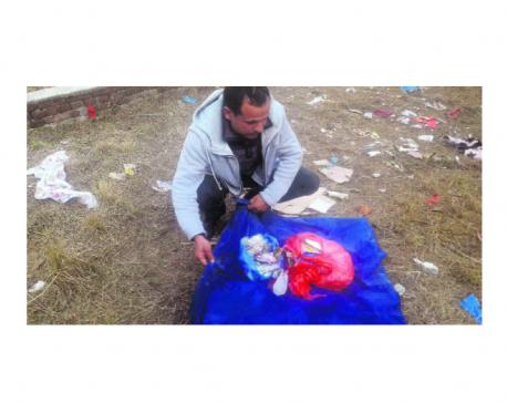 Digging through garbage to track down Bagmati polluters