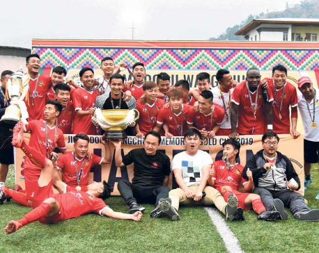 Paro defeats Three Star to lift Jigme Dorji title at home