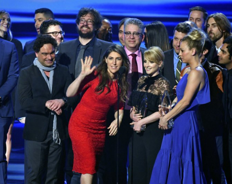 Studio immortalizes 'Big Bang Theory' as series nears finale