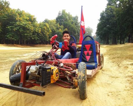 22-year-old makes a hybrid car