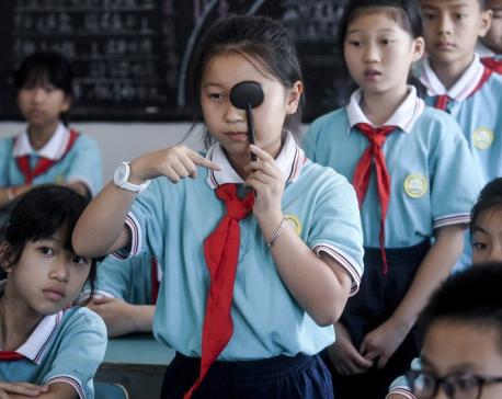 For sake of pupils' pupils, China to ban homework on apps