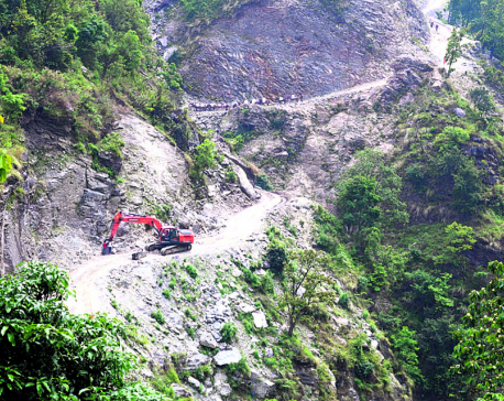 Dhading's rural roads: Development in winter, destruction in monsoon