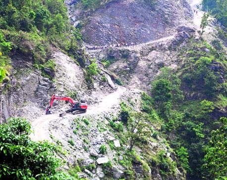 Dhading's rural roads: Development in winter, destruction in monsoon