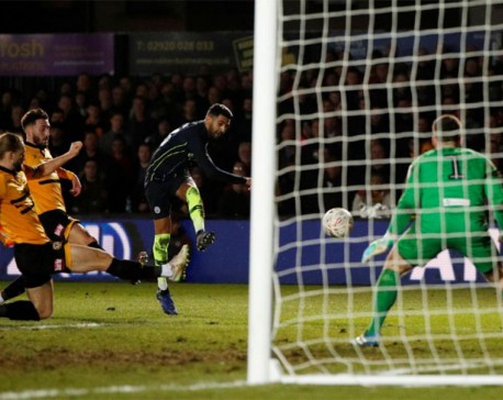 Man City end Newport's Cup dream to reach quarter-finals