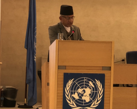 Foreign Affairs Minister Gyawali attends UN Human Rights Council high-level segment
