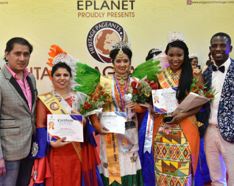 Nepal at 'Heritage Pageants-2019'