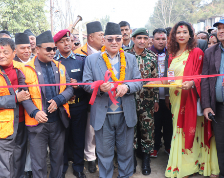 Home Minister Thapa insists on social enlightenment
