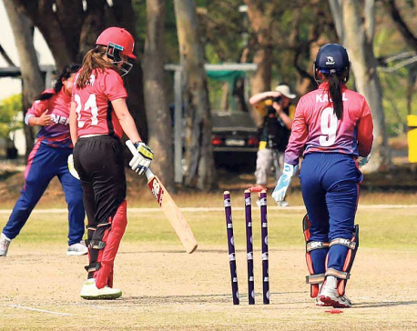 Bowling brilliance from Thapa propels Nepal to third win