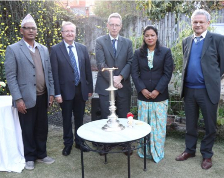 Opening of Nepal Research Bhavan