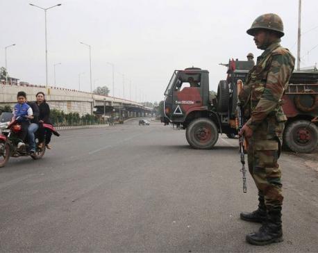 Gunbattle with militants kills four Indian soldiers, civilian in Kashmir - police