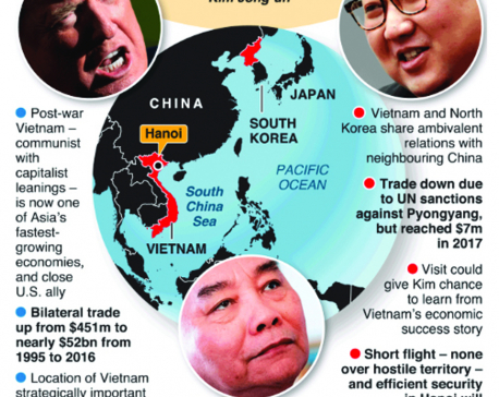 Infographics: Why Vietnam for the second Trump-Kim summit?