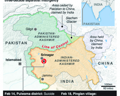 Infographics: Tensions escalate in Kashmir