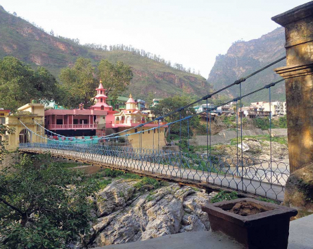 Jhulaghat bridge remains an unmet promise