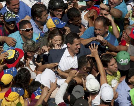 European nations recognize Guaido as Venezuelan leader