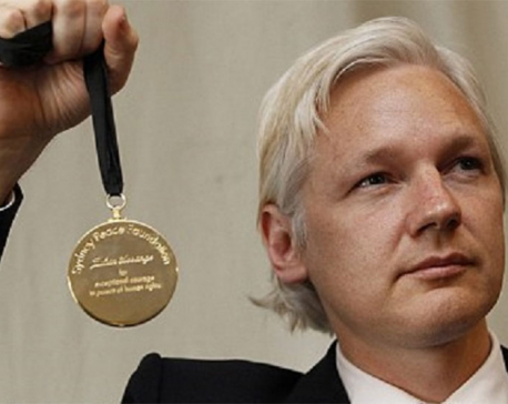 Julian Assange reportedly nominated for Nobel Peace Prize