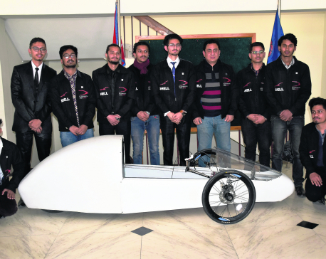 Nepali students to showcase prototype in Shell Eco Marathon Asia