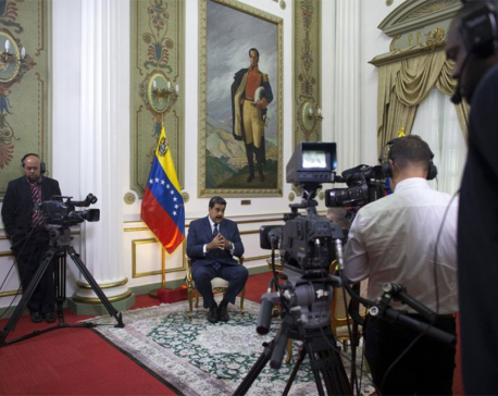 Maduro reveals secret meetings with US envoy