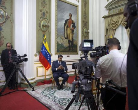 Maduro reveals secret meetings with US envoy