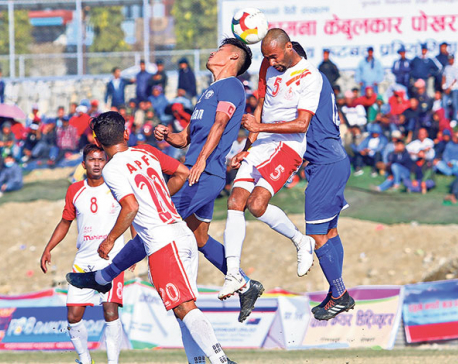 APF into Manakamana semis after fastest goal