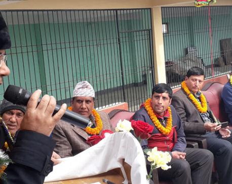 Corrupts are development antagonists: Minister Baskota