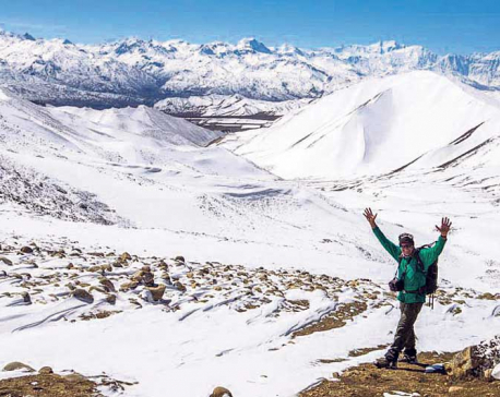 Ski training in Mustang to attract tourists