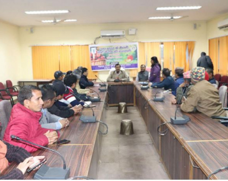 Nepali farmers, agriculture experts attend training on organic farming in India